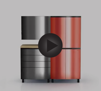 Check Out Our Video Page To Have A First Look At The Contur Cabinet Style!